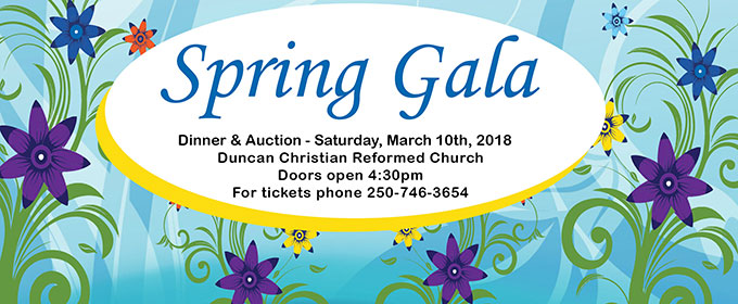 Spring Gala – March 10