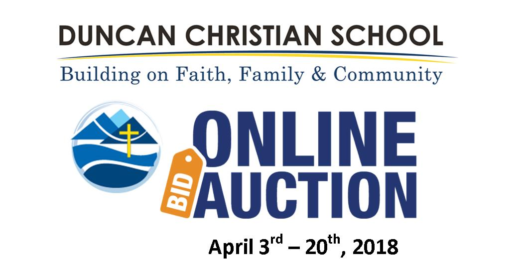 DCS Online Auction April 3-20